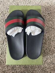 Gucci Slides Men Size 9 (10/10 Condition)