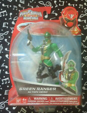 2014 Mighty Morphin Power Rangers Super Megaforce Green Action Figure - NEW