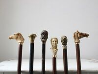 Selection of Antique & Vintage Canes Sold Individually