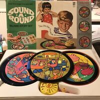 Sound-A-Round Vintage 1969 Denys Fisher Talking Story Set - working