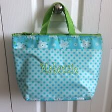 """tHIRTY-ONE Lunch Bag/Tote Insulated Monogramed Name """"Makenzie"""" Floral Pattern"""