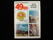 1974 San Francisco 49ers NFL Media Guide