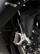 MV Agusta F4RR 2011 Ohlins Forks only R&G Racing Fork Protectors FP0130BK Black