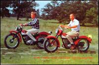 1965 Harley Davidson Scat, Pacer 175 Original Brochure Motorcycles