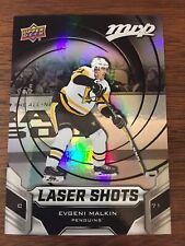 19/20 UD MVP Pittsburgh Penguins Evgeni Malkin Laser Shots card #S-3