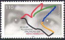 Germany 1998 Dove/Eyes/Birds/Human Rights 50th Anniversary/Animated 1v (n29651)