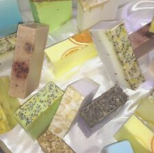 Buy 4 get 1 Free Handmade Luxury Vegan Soap  Cruelty Free Scented Exfoliate