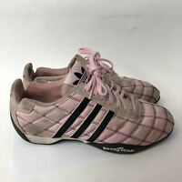 Adidas Goodyear Tuscany Racing Shoes Women Size 8 Pink Color