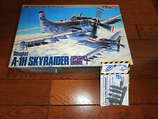 1/48 TOILET BOMBER A-1H SKYRAIDER + CUTTING EDGE PROPS  by HASEGAWA MONOGRAM
