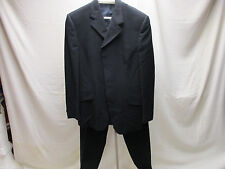 Versace Classic V2 Men's Black Suit  40US Made in Spain Originally over $1400