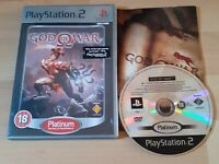 Sony PlayStation 2 PS2 PAL Game - God of War - Platinum - Complete