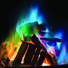 Mystical Fire Magic Coloured Flames Bonfire Colour Changing Fire For Log Burner