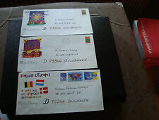 FRANCE - 3 enveloppes pret a poster 1999 2000 (cy48) french