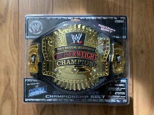 RARE WWE Jakks Cruiserweight Championship Belt New In Box 2001-2007 Design NIB