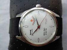 RARE ORIGINAL HMT JANATA HAND WINDING MENS WRISTWATCH