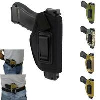 Concealed Belt Holster Ambidextrous IWB Holster for Compact Subcompact Pistols J