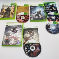 Gears of War 3, Halo 4, Splinter Cell Conviction Xbox 360 Complete CIB Game Lot