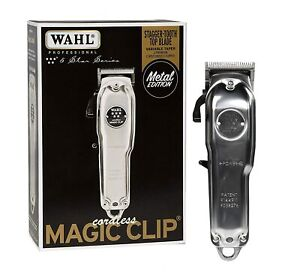 Wahl 5 Star Series Magic Clip Cordless Metal Edition - 8509 Limited Edition