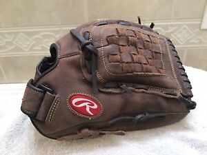"Rawlings P125BFL 12.5"" Women's Fastpitch Softball Pitchers Glove Right Hand Thro"