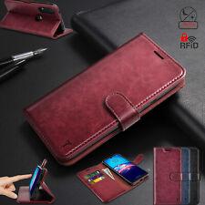 For Motorola Moto E 2020 Case Flip Leather Wallet Cover Rfid Blocking Cases
