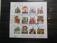Guernsey 1988 Commemorative Stamps~Christmas~Set~Fine Used ~on piece