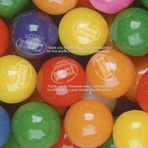 """850 TROPICAL FRUIT Dubble Bubble 1"""" GUMBALLS bulk vending candy assorted double"""