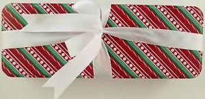 Christmas Holiday Candy Tins Nesting Metal Gift Boxes Set C Select Design & Size