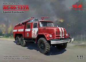 ICM 35519 Soviet Firetruck AC-40-137A (100% new molds) 1/35