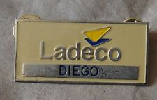 Chile Ladeco Pin name Diego