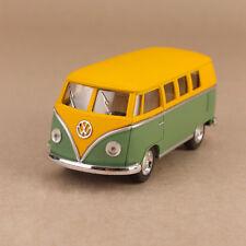 1962 Volkswagen Kombi Microbus 1:32 Scale 13cm Die-Cast Model Car Matt Green