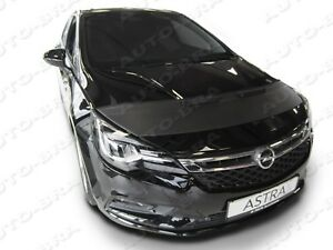 BONNET BRA Vauxhall Holden Opel Astra K since 2015 STONEGUARD PROTECTOR MASK