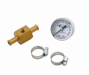 MR. GASKET In-Line Fuel Press Gauge  P/N - 1560