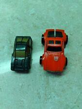 Vintage Transformers Mini Cars.
