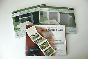 Creative Memories Photo Sharing Card Lot of 3