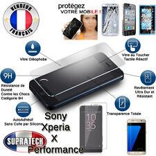 Protection d'Ecran Verre Trempé Contre les Chocs pour Sony Xperia X Performance