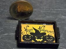 Dollhouse Miniature Halloween Serving Tray 1:12 inch scale F54 Dollys Gallery