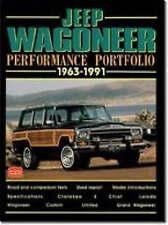 NEW Jeep Wagoneer 1963-91 Performance Portfolio by R.M. Clarke