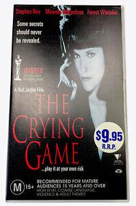 The Crying Game Maranda Richardson VHS Video Cassette PAL M15+ 1992