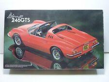 Ferrari Dino 246GTS 1/24 Fujimi plastic kit unbuilt, boxed.