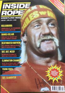 Inside The Ropes Wrestling Magazine Issue 7 April 2021 - Hulkamania
