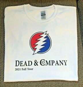 Dead and Company Fall Tour 2021 T-shirt tee white New