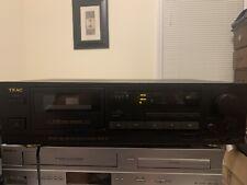 Teac R-540 Auto Reverse Stereo Cassette Deck. SHIPS FREE. RARE MODEL 🔥🔥🔥👽👽