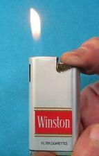 Collectable Vintage Winston Cigarettes Butane Lighter. Working!
