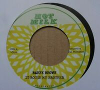 "BARRY BROWN - It Rough My Brother / Mount Zion - 7"" Vinyl  🇧🇴 ROOTS REGGAE DUB"