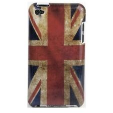 Hülle f iPod Touch 4G 4 Gen. Tasche Case Schutz England UK GB Flagge flag retro