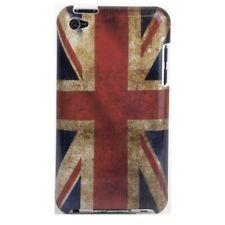 Hülle f iPod Touch 4G 4 Gen. Tasche Case Schutz England UK GB Flagge flag retro