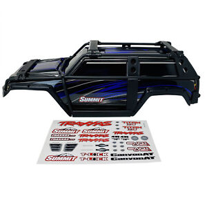 Traxxas Summit Updated Body (Purple & Black) Exocage Cover Shell 1/10 Brand New
