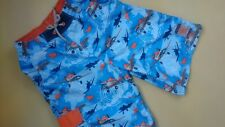 NICE DISNEY STORE AIRPLANES SUMMER SHORTS 7/8 YRS USED ONCE EXC.CONDITION