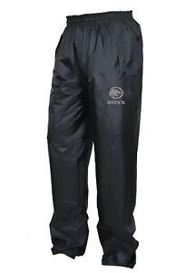 Mens Women Waterproof Over Trousers Rain Pants Motorcycle Fishing Hiking Cycling