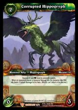WOW Corrupted Hippogryph LOOT CARD UNSCRATCHED NEW - ENG RARE MINT